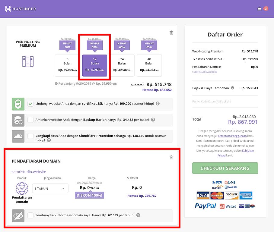 Nama Domain Gratis Panduan Lengkap