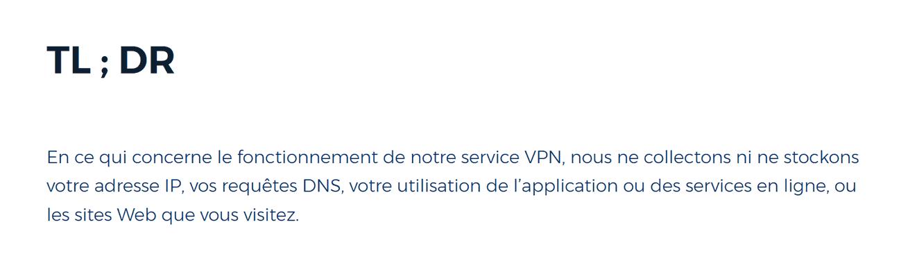 HMA et votre adresse IP