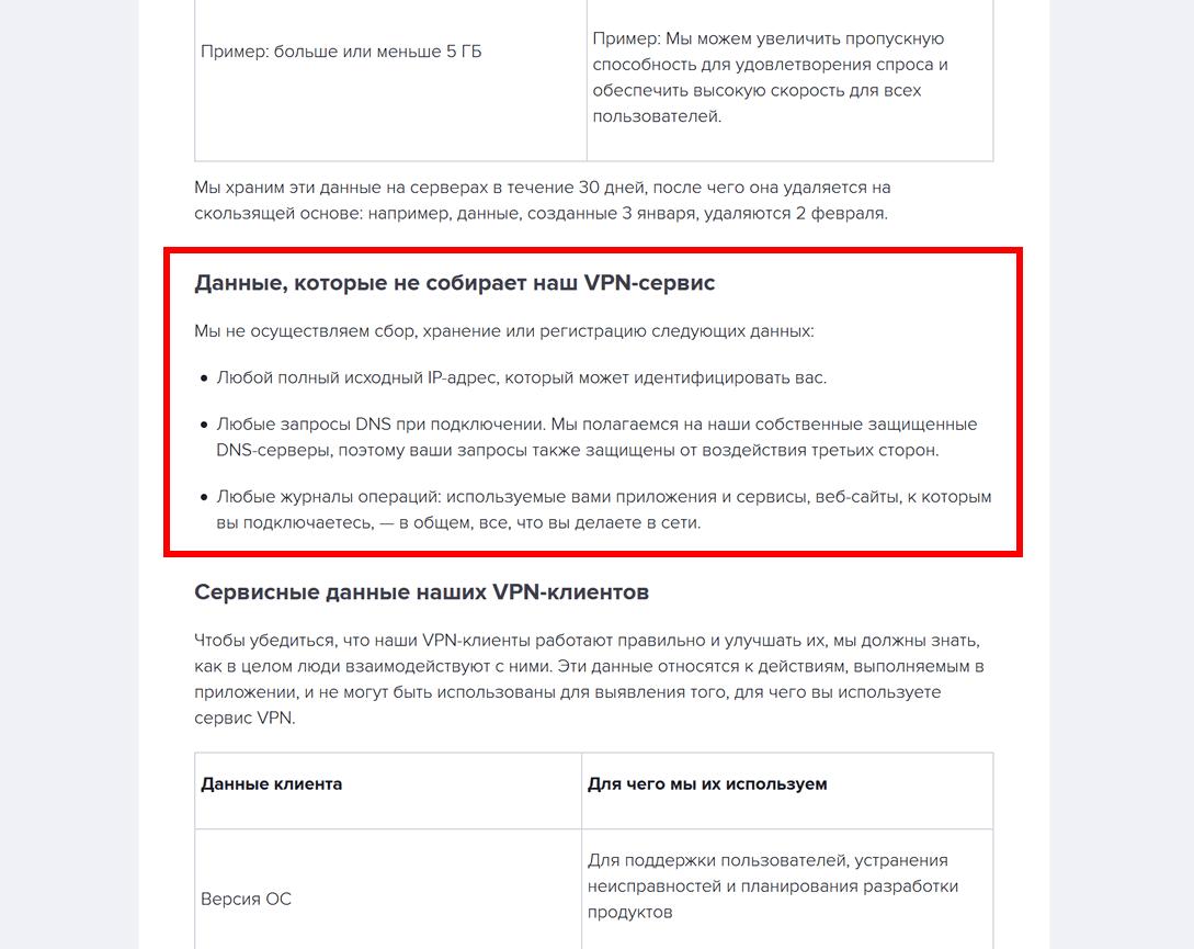 Avast VPN политика конфиденциальности